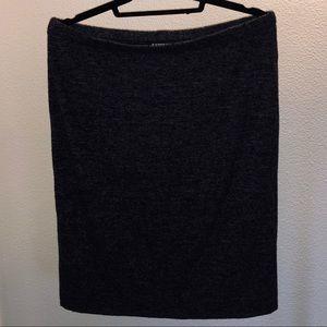 •Express Grey Knit Pencil Skirt•